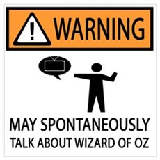 Spontaneously Talk Wizard of Oz Poster
