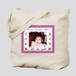 Pink w/Toys Personalized Tote Bag - Custom