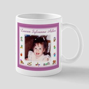 Girl w/Toys Personalized Mug - Custom