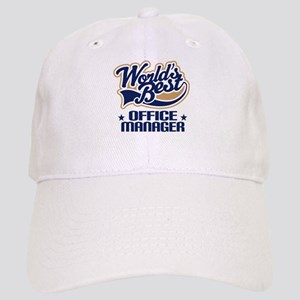 Office Manager (Worlds Best) Gift Cap