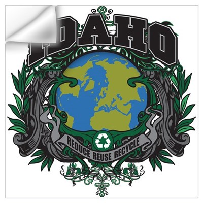 Idaho Green Pride Wall Decal
