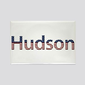 Hudson Stars and Stripes Rectangle Magnet