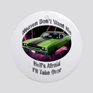 Plymouth Roadrunner Ornament (Round)