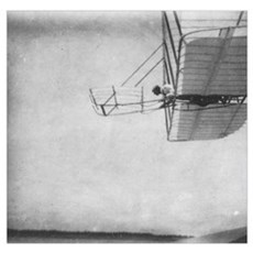The 1901 Glider Flying Shop Poster