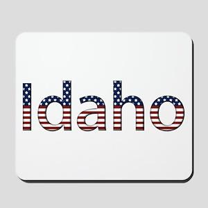 Idaho Stars and Stripes Mousepad