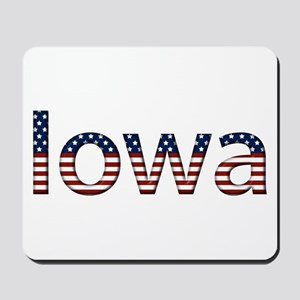 Iowa Stars and Stripes Mousepad