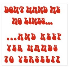 Hands To Yerself Poster