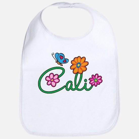 Cali Flowers Bib
