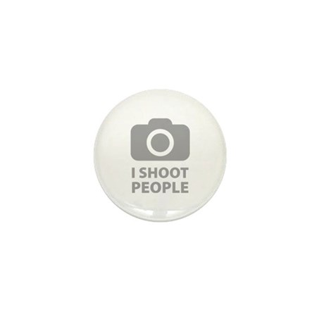I Shoot People Mini Button (100 pack)