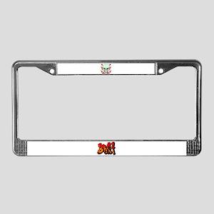 BMX License Plate Frame
