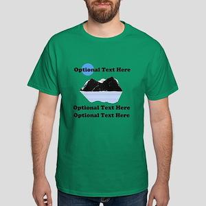 """Customized """"I Climbed"""" Dark T-Shirt"""