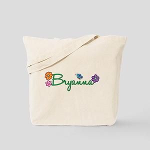 Bryanna Flowers Tote Bag