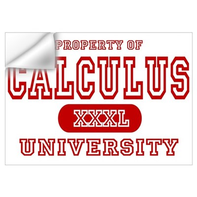 Calculus University Wall Decal