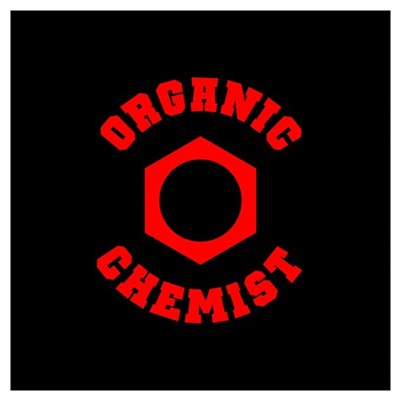 Organic Chemist (red) Canvas Art