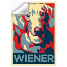 Vote Wiener! Wall Decal