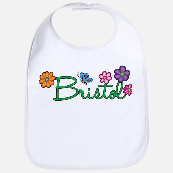Bristol Flowers Bib