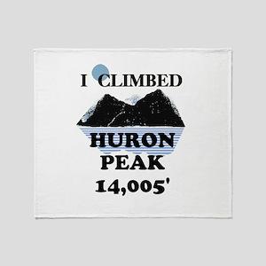 Huron Peak Throw Blanket
