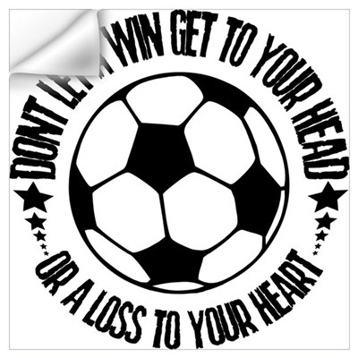 Soccer A Win Wall Decal