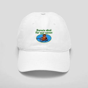 Darwin died for our sense Cap