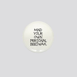 Personal Beeswax Mini Button