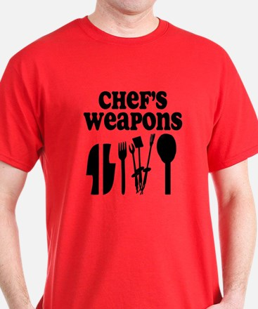 Chef's weapons 2 T-Shirt