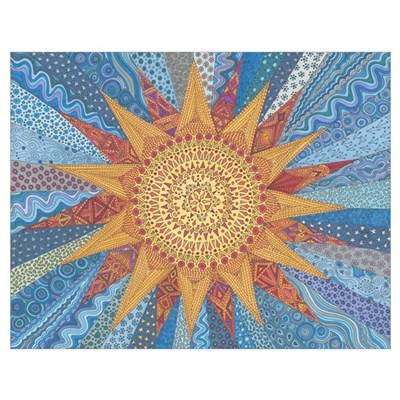 A Quilt Of Sunshine Poster
