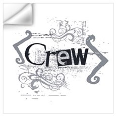 Grunge Crew Wall Decal