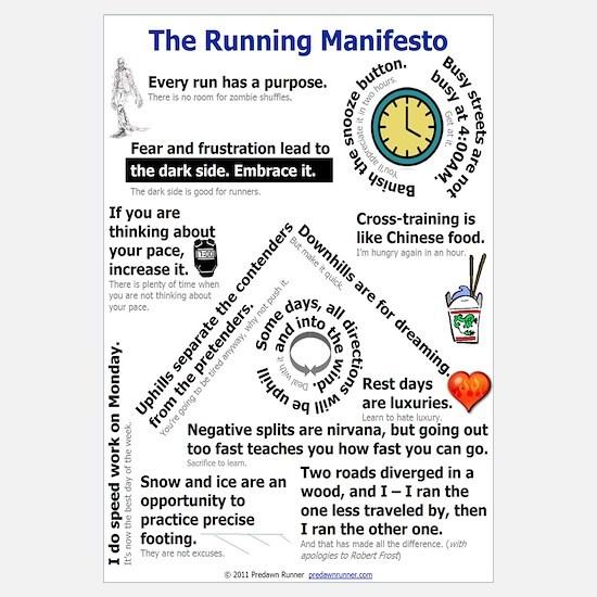 The Running Manifesto