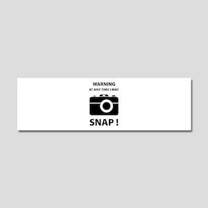 I May Snap Car Magnet 10 x 3