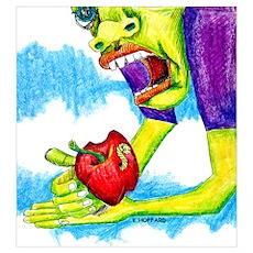 Adam's apple Poster