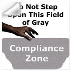 Compliance Zone Wall Decal