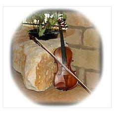 Grandpa's fiddle Poster