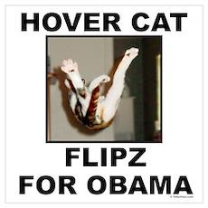 Flipz 4 Obama Poster