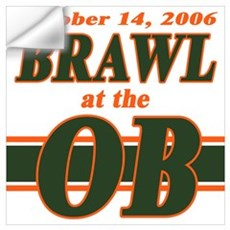 Brawl at the OB Wall Decal