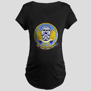 Air Carrier Wing Maternity Dark T-Shirt