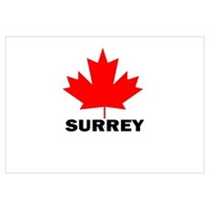 Surrey, British Columbia Poster
