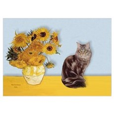 Sunfowers / Poster