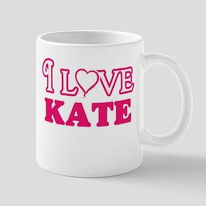 I Love Kate Mugs