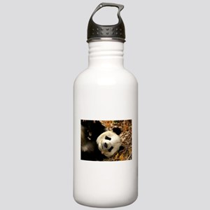 Tai Shan resting in leaves Stainless Water Bottle