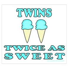TWINS TWICE AS SWEET Poster