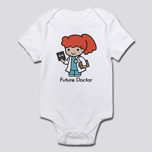 Future Doctor - girl Infant Creeper