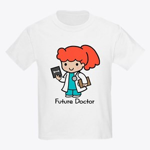Future Doctor - girl Kids T-Shirt