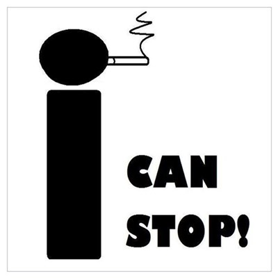 I CAN STOP SMOKING! Poster