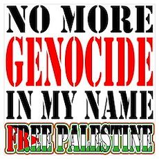 No More Genocide Poster