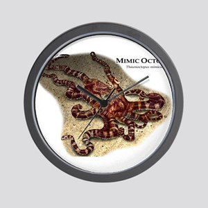 Mimic Octopus Wall Clock