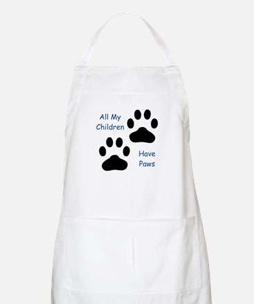 All My Children Have Paws 1 Apron