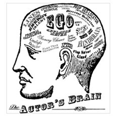 The Actor's Brain Poster