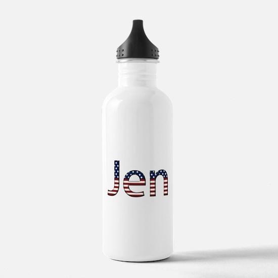 Jen Stars and Stripes Water Bottle