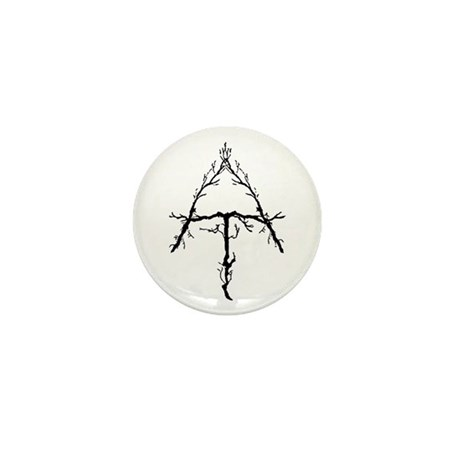 Appalachian Trail Twigs Mini Button