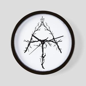 Appalachian Trail Twigs Wall Clock
